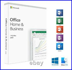 Microsoft Office Home and Business 2019 PC-MAC ESD Authorized Seller