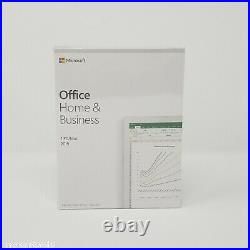 Microsoft Office Home and Business 2019 PKC for Windows 10/Mac 1 User Retail Box