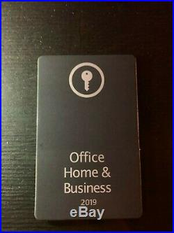 Microsoft Office Home and Business 2019 Windows 1 License Key PC only