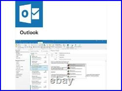 Microsoft Office Home and Business 2019 Windows/Mac 1 License PC CARD
