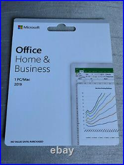 Microsoft Office Home and Business 2019 Windows or MAC full retail version