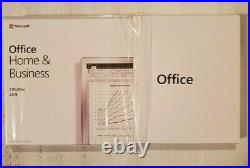 Microsoft Office Home and Business 2019 for 1 PC/Mac Retail Box