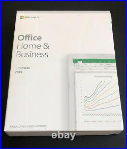Microsoft Office Home and Business 2019 for MAC/ Windows PC 1 User