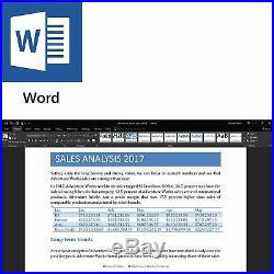 Microsoft Office Home and Business 2019 for PC and Mac 1PC Retail