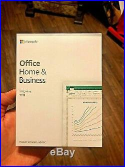 Microsoft Office Home and Business PC/MAC 2019 BRAND NEW SEALED