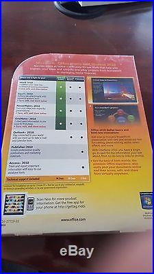 Microsoft Office Home and Student 2010 Family Pack, 3PC Disc PN79G-02144