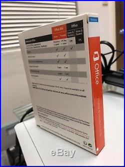 Microsoft Office Home and Student 2016 Windows English PC Key Card