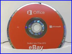 Microsoft Office Pro 2016 DVD Home and Business 2 PC Genuine