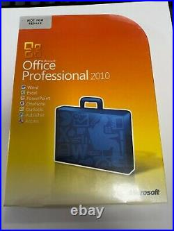 Microsoft Office Professional 2010 Software for Windows