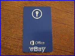 Microsoft Office Professional 2013 Unused Keycard Only