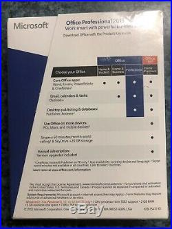 Microsoft Office Professional 2013 for 1 PC (269-16094) Brand New Sealed