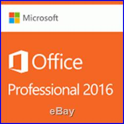 Microsoft Office Professional+ 2016. New, physical product! FULL pro edition