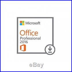 Microsoft Office Professional Pro Plus 2016 for Windows For 2 PCS with 8GB USB