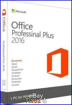 Microsoft Office Professional Pro Plus 2016 for Windows For 3PC With USB