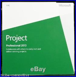 Microsoft Office Project Pro 2013 Professional Edition H30-03673