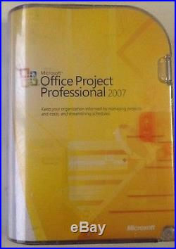 Microsoft Office Project Professional 2007 Edition H30-01854