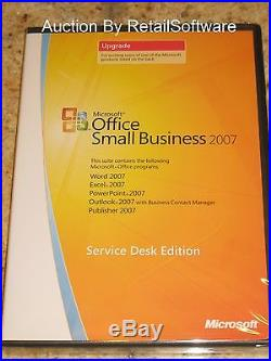 Microsoft Office Small Business 2007 Upgrade, Word, Excel, PowerPoint, Outlook