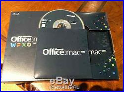 Microsoft Office for MAC 2011 Home & Business for 2 Macs GENUINE DVD Version