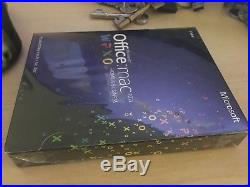 Microsoft Office for Mac 2011 Home and Business Word Outlook Excel NEW UNUSED