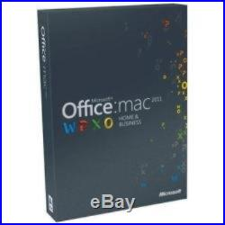 Microsoft Office for Mac Home and Business 2011 1 Pack