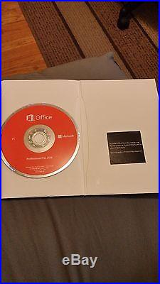 NEW Microsoft Office Professional Plus 2016 For 2 PC's 32 & 64 bit FULL VERSION