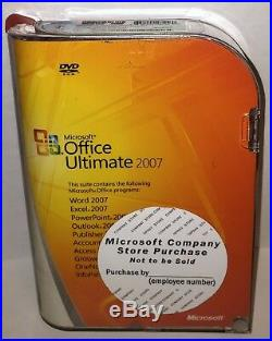 (NEW) Microsoft Office ULTIMATE 2007 Edition Win32 (Full Version) 76H-00325
