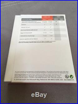 NEW SEALED Microsoft Office Home and Business 2016 SKU- T5D-02929