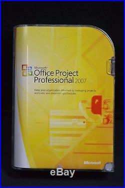 NEWithSealed Microsoft Office Project Professional 2007 #4620