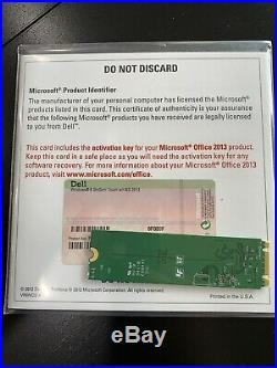 New Microsoft Office 2013 Professional Full Version Product Key Card