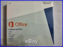 New Microsoft office Professional 2013 Full Version for Windows 1/PC/User