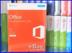 New & Sealed Microsoft Office 2016 Home And Business T5d-02826 100% Genuine Uk
